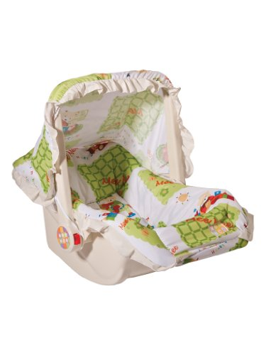 Mee Mee Cozy Carry Cot and Rocker MM-2035 Green
