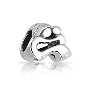Mothers Day Gifts Bling Jewelry 925 Sterling Silver Loving Mother Child Family Bead Charm Fits Pandora