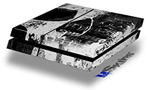 Urban Skull - Decal Style Skin fits original PS4 Gaming Console