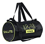 #8: Salute BasicNew Polyester 19 Liters Black travel bag Sports gym Duffel bag