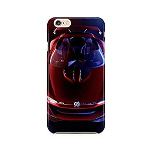 Motivatebox - Apple Iphone 6 plus/6s plus; 6+/6s+ Back Cover - Red Volkswagon Polycarbonate 3D Hard case protective back cover. Premium Quality designer Printed 3D Matte finish hard case back cover.