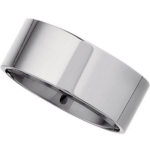 8mm Titanium Comfort Fit Band, Size 8.5