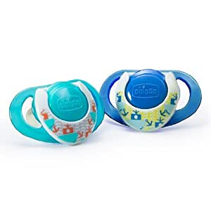 Chicco NaturalFit Deco Orthodontic BPA and LATEX FREE Pacifiers
