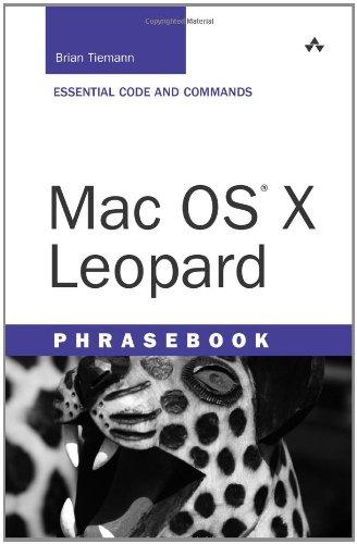 Mac OS X Leopard Phrasebook
