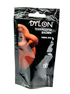 Dylon Hand Fabric Dye - Terracotta Brown