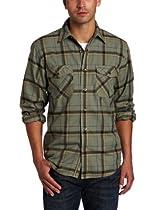 Royal Robbins Leadville Flannel Long Sleeve Shirt, Canopy, X-Large