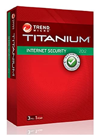 Trend micro titanium internet security 2012 - 1 an / 3 postes