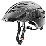 UVEX City 3 Bicycle Helmet black-dark silver mat Size:52-57 cm