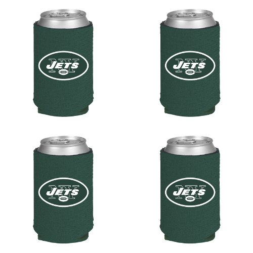 NFL New York Jets Can Koozie 4 pack at Amazon.com