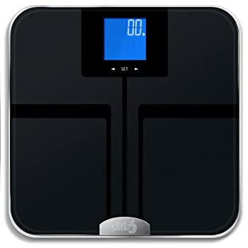 The EatSmart Precision GetFit is not your ordinary bathroom scale as it can quickly and easily measure weight, body fat, body water, body muscle and bone mass using our new ITO BIA technology.  This scale is perfect for individuals who are serious a...