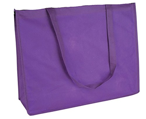 "DALIX 20"" Extra Large Reuseable Eco-Friendly Recycled Material Tote Bag"