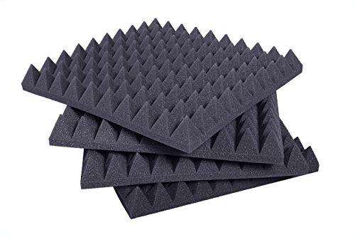 pannelli-fonoassorbenti-piramidale-50x50x6cm-d30-ignifugo-pacco-da-10