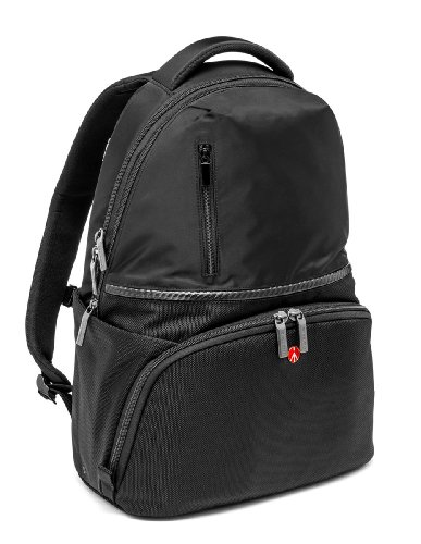 Manfrotto MB MA-BP-A1 Active 1 Zaino per Reflex Obbiettivi e Laptop, Nero/Antracite