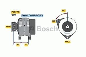 Bosch 0986039700 Alternator