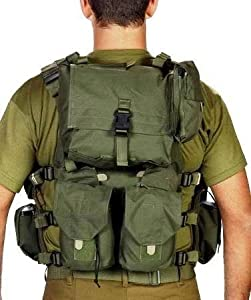 Buy Body Glove Army Assault Gear Vest Cover Protective Jacket Armour Belt Intercepto (Idf) by HAGOR