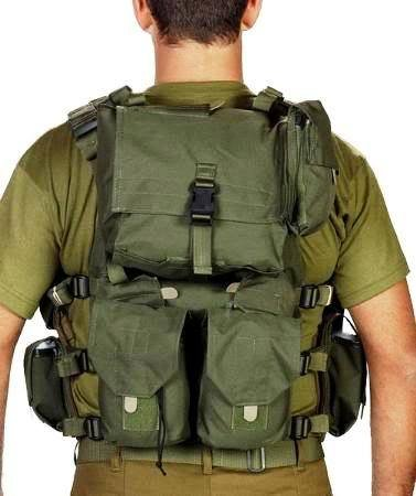 Body Glove Army Assault Gear Vest Cover Protective Jacket Armour Belt Intercepto (Idf)