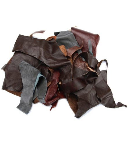 leather-scraps-from-garment-cutting-2-pound-mostly-black-color