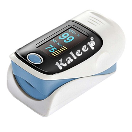 Pulsoximeter Finger Tip Fingertip Sauerstoffmessgerät SpO2 PR Pulsmesser Neu