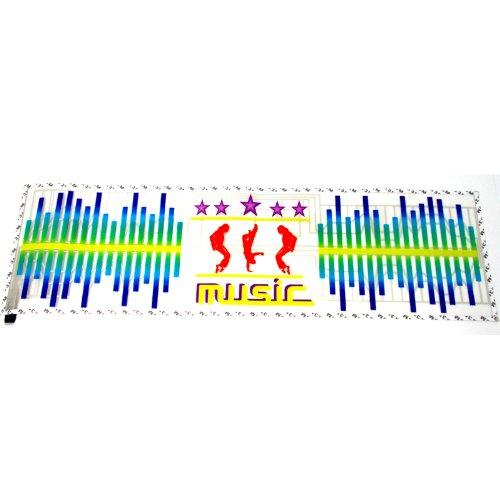 Led Maximum 90X25Cm Dc 12V Sound Sensitive Music Beat Activated Car Sticker Equalizer Michael Sticker Music Rhythm Led Flash Lamp With Car Cigarette Charger Universal Decoration #Ml02
