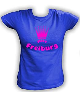 Artdiktat T-Shirt Miss Freiburg Neon Pink