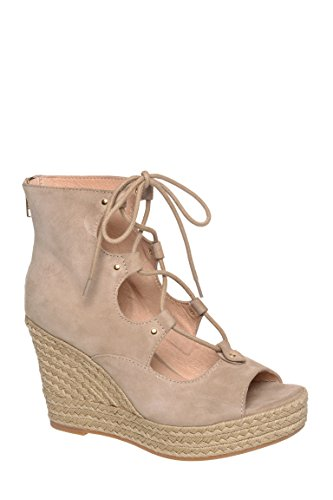 Colette High Wedge Peep Toe Sandal