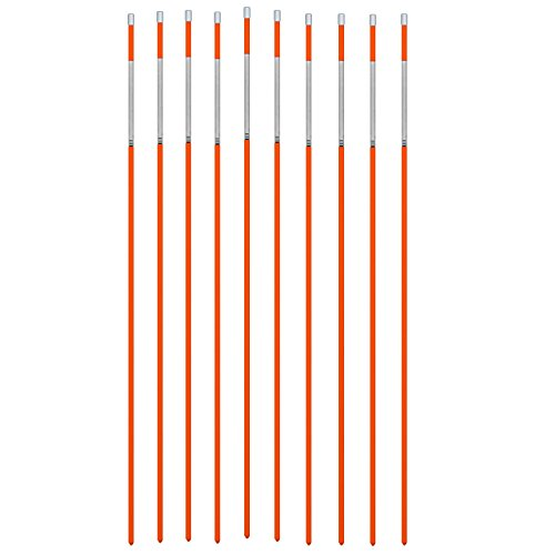 dasco-pro-665-snow-pole-driveway-marker-with-reflective-tape-orange-pack-of-10