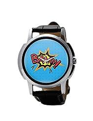 PosterGuy Baaam Comic Sound Men's Wrist Watches