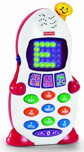 Fisher-Price Laugh & Learn Learning Phone - 1
