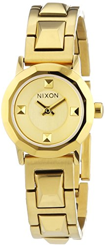 Nixon Ladies'Watch XS Mini B SS All Analogue Display and Gold Stainless Steel with A 339502-00