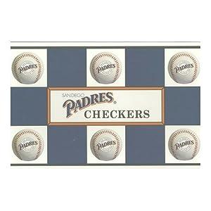 Big League Promotions San Diego Padres Checkers by Big League Promotions