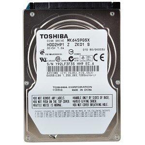 """Toshiba MK6459GSX 640GB SATA/300 5400RPM 8MB 2.5"""" Hard Drive"""