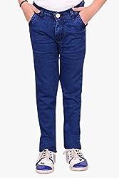 Makeover slim fit blue boy's jeans