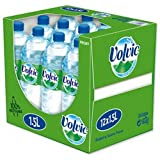Brand New. Volvic Natural Mineral Water Still Bottle Plastic 1.5 Litre Ref 8873 [Pack 12]