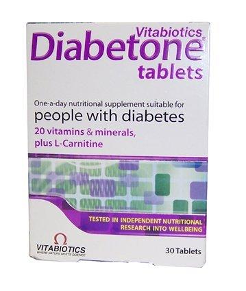 Vitabiotics Diabetone Tablets 30Pack
