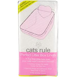 Cats Rule Litter Box Liners