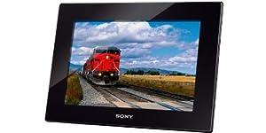 Sony DPF-HD1000 Digitaler Bilderrahmen (25,4 cm (10 Zoll) Display, 16:10, SD/SDHC/SDXC Kartenslot, 2GB Speicher) inkl. Fernbedienung