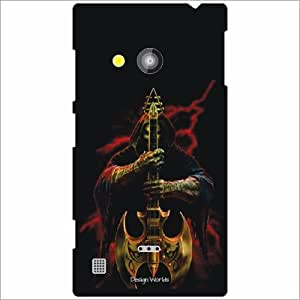 Design Worlds - Nokia Lumia 720 Designer Back Cover Case - Multicolor Phone...