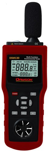 Dawson Dsm130 Multi-Funtional Environmental Tester Sound / Temperature / Humidity / Wind