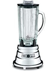 Waring Commercial BB900G 1 2 HP Chrome Bar Blender with 40-Ounce Glass Container by Waring