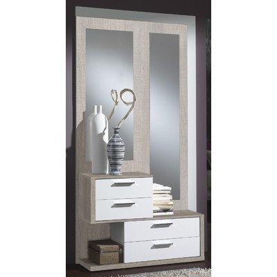 Garderoben Set Farbe: Eco / Weiß