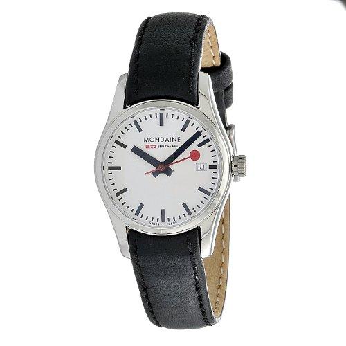 Mondaine - A629.30341.11SBB.XL - Montre Femme - Quartz - Bracelet Cuir