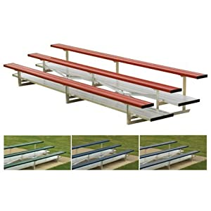 15 Color Stationary Bleachers 3 Rows by Titan