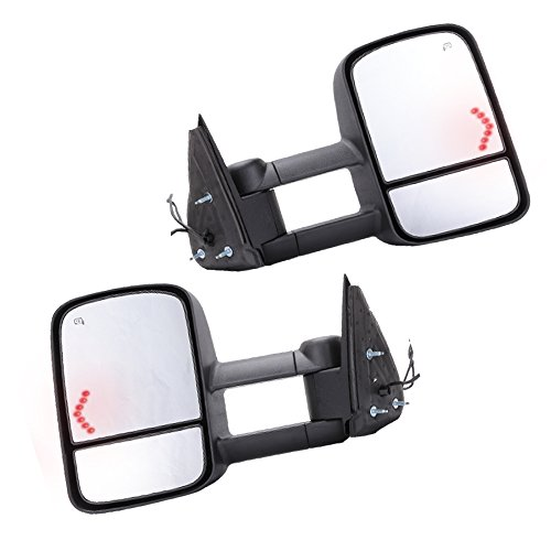 GZYF Pair Tow Mirrors for Silverado 1500 (2003 Chevy Tow Mirrors compare prices)
