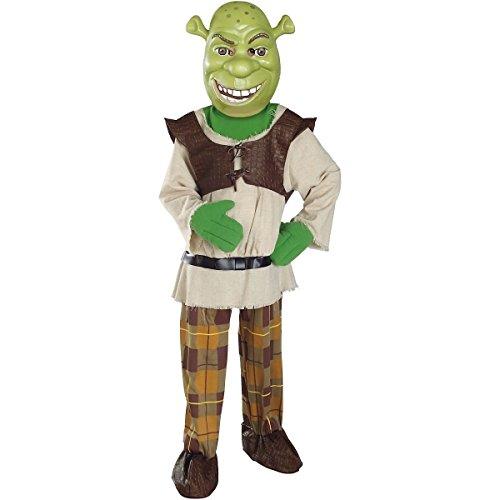 [GSG Deluxe Shrek Child Kids Toddler Boys Ogre Halloween Costume] (Super Deluxe Vampires Vixen Sexy Costumes)
