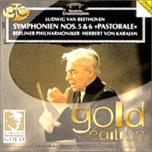 Beethoven : Symphonies n° 5 et n° 6 / Karajan