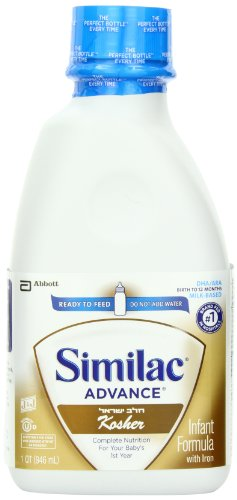 Similac Infant Formula With Iron, 32 Fluid Ounce