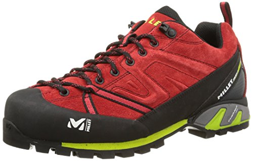 Millet - Trident Guide, Scarpe da uomo, Rosso(Rouge (7161 Red/Acid Green)), 42 2/3