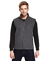 Blue Harbour Heritage Zip Through Fleece Gilet