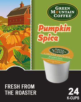 Green Mountain *Limited Edition* Pumpkin Spice Flavored Coffee 3 Boxes Of 24 K-Cups front-564278