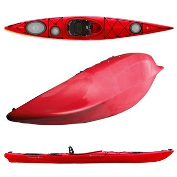 Image of Wilderness Systems Tsunami 135 Ocean Sea Touring Kayak-Mango (B006ICH1YW)
